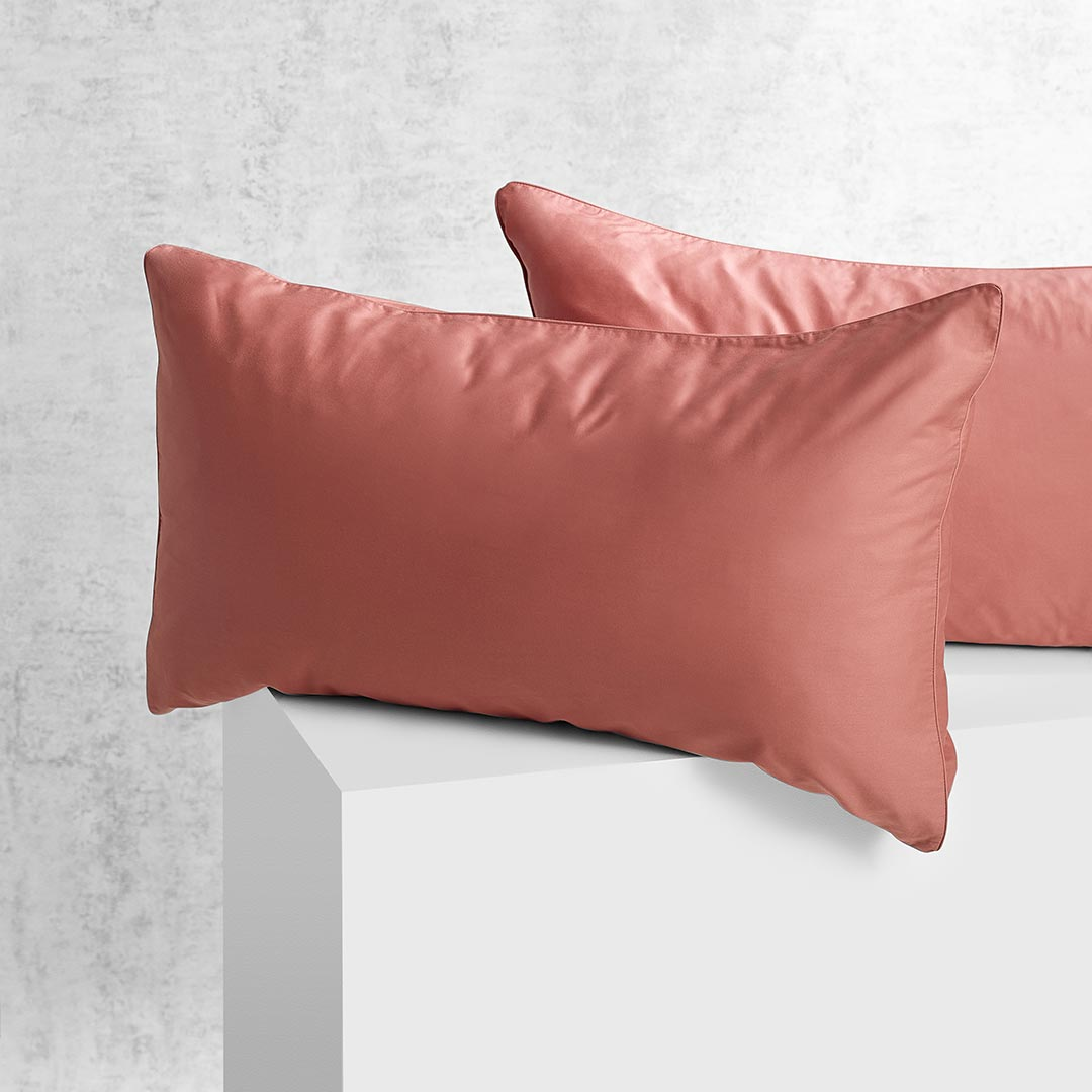 Eden Pillowcases - Rust