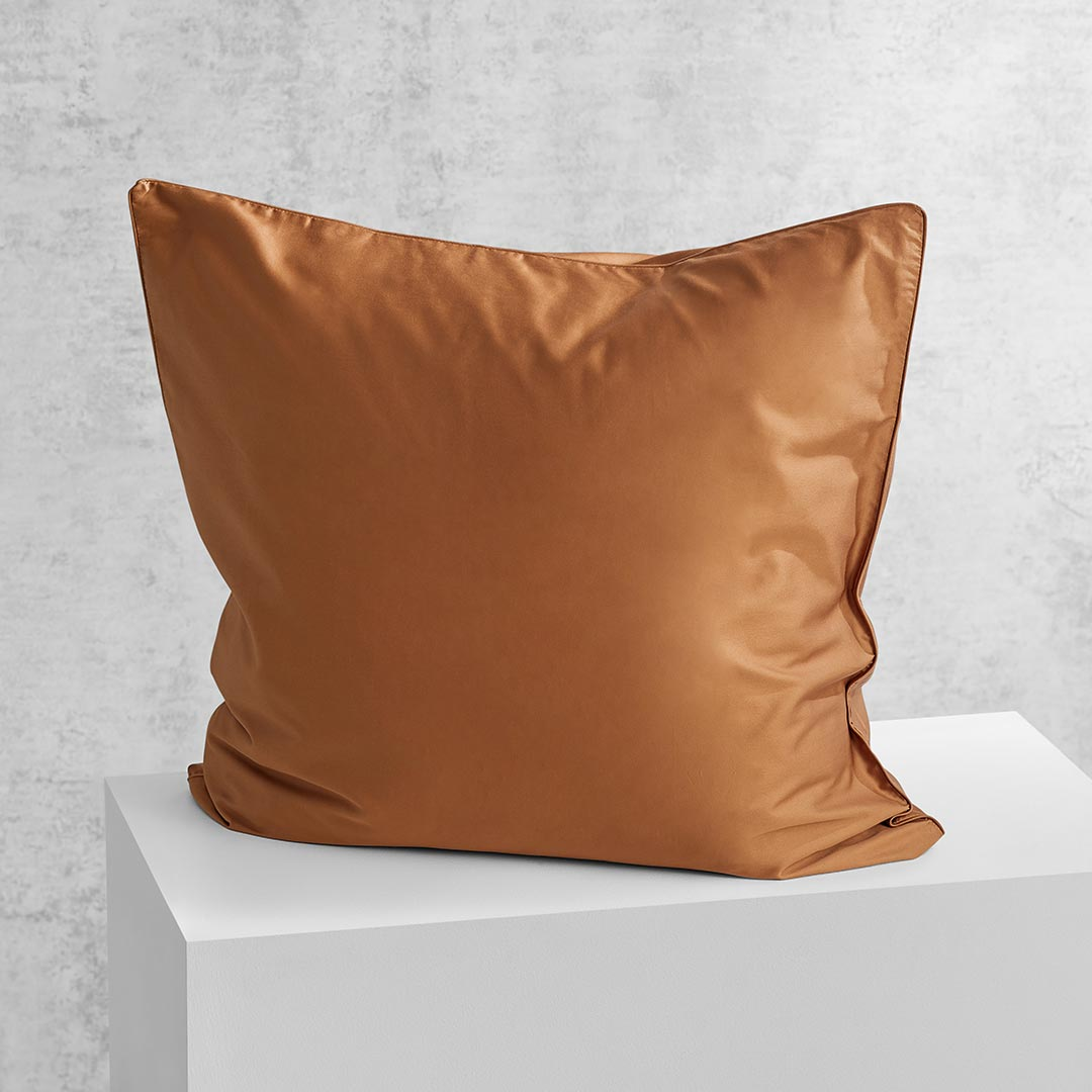 Eden European Pillowcase - Terracotta