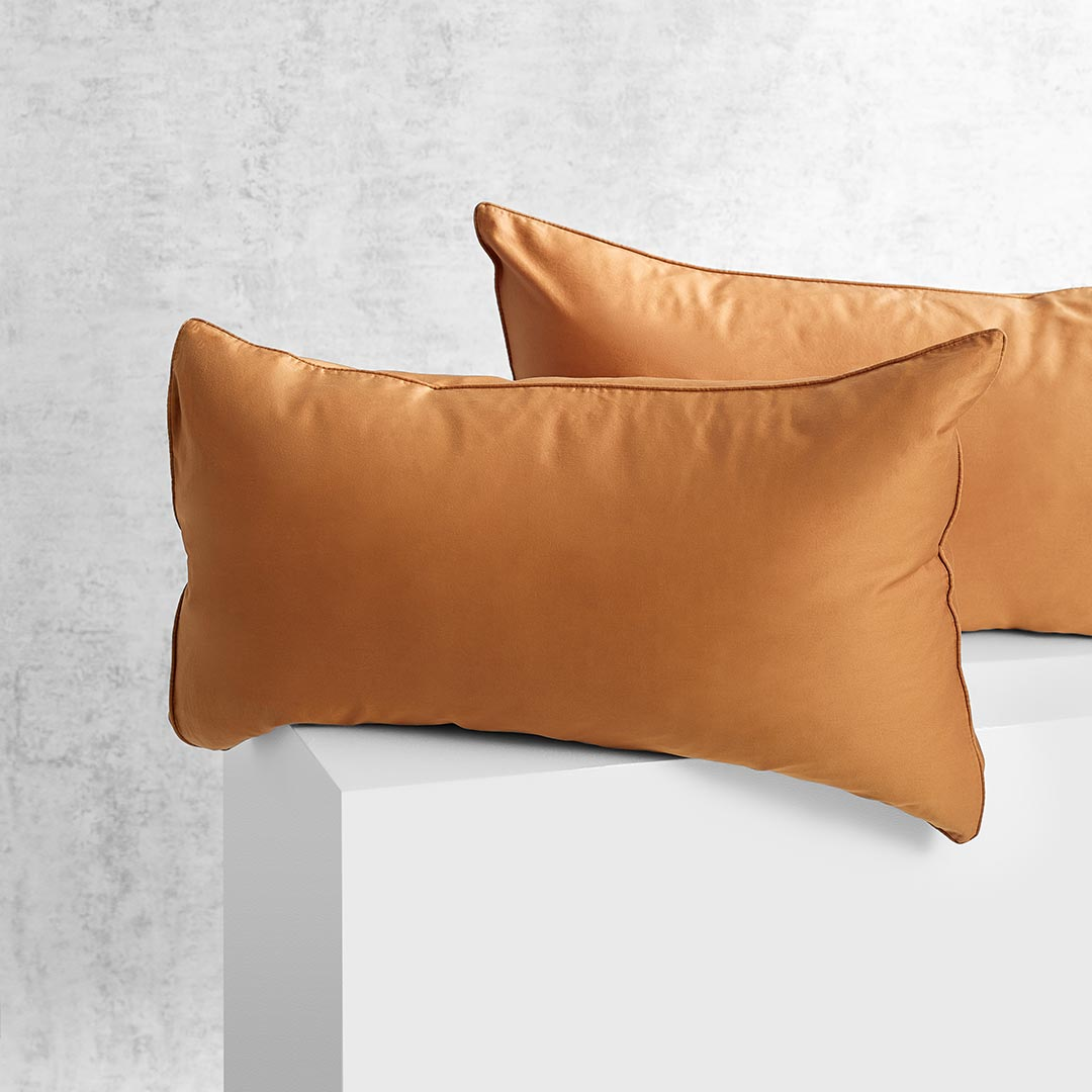 Eden Pillowcases - Terracotta