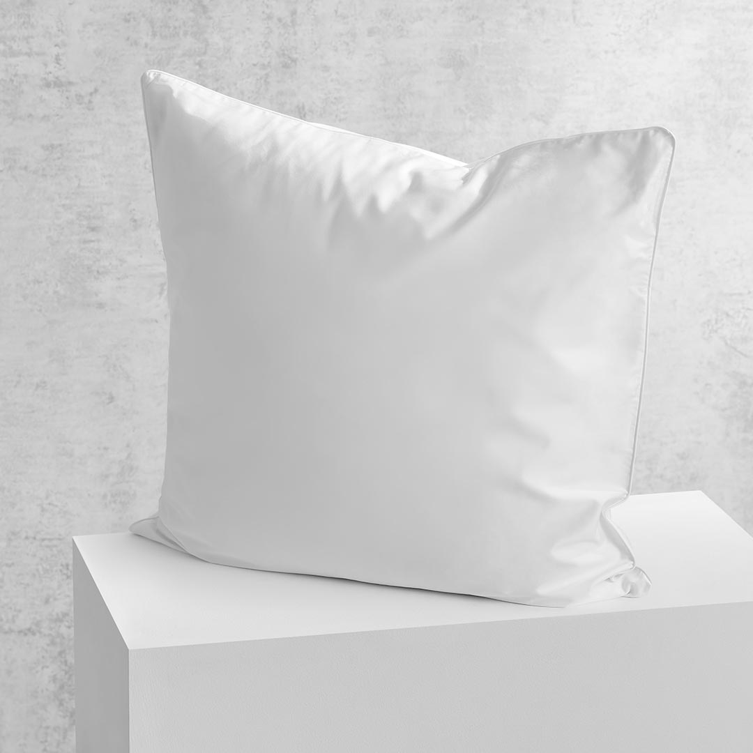 Eden European Pillowcase - White