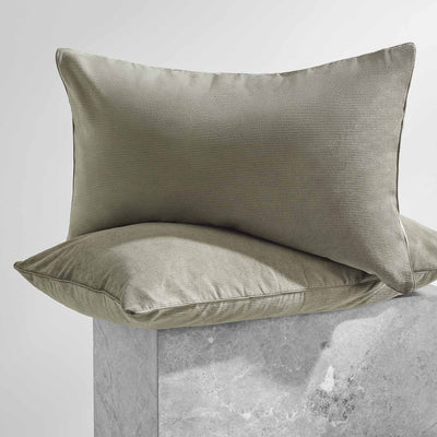 DARCY Corduroy Pillowcases - Moss