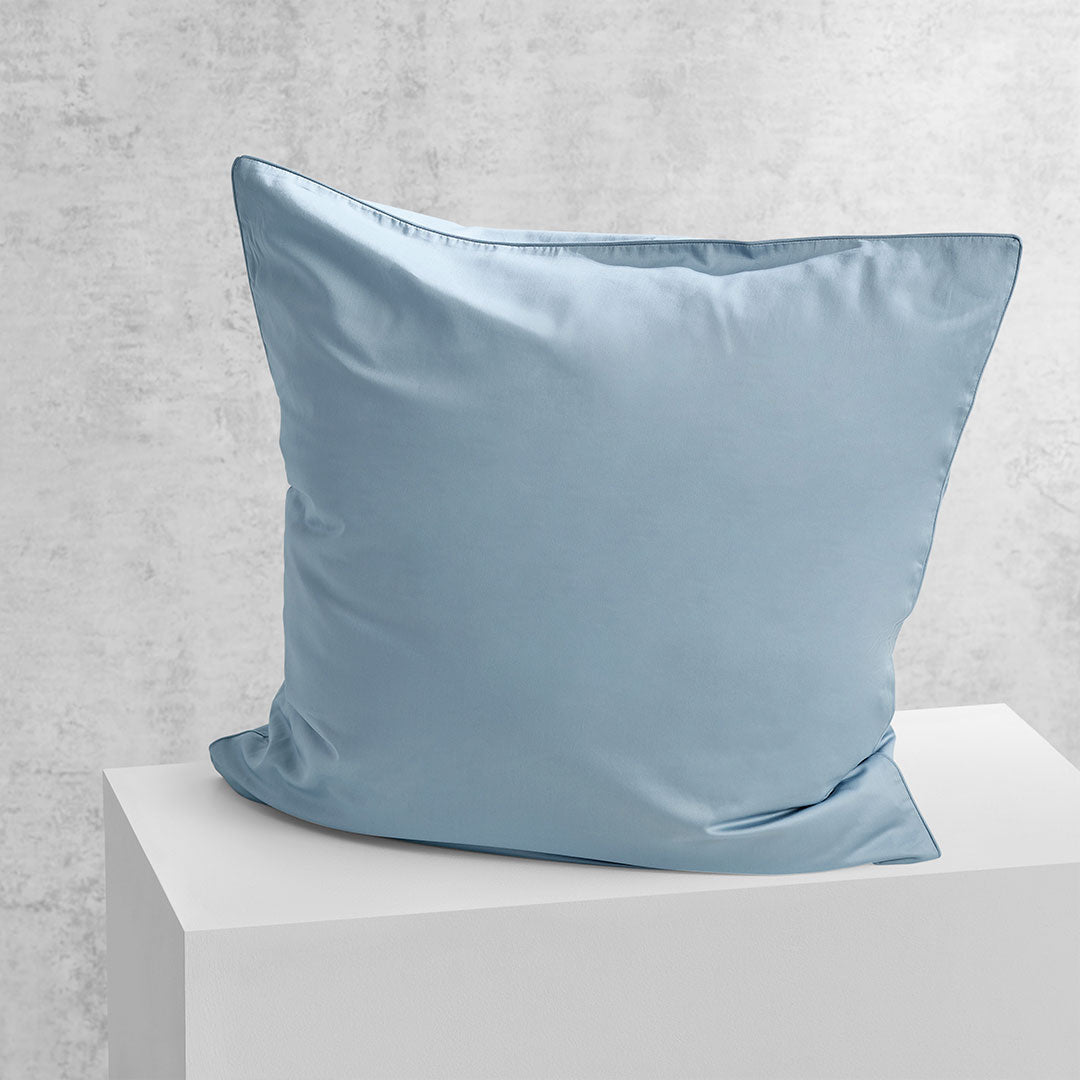 Eden European Pillowcase - Blueprint