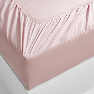 Eden Fitted Sheet - Blush