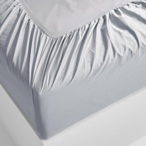 Eden Fitted Sheet - Dove Grey