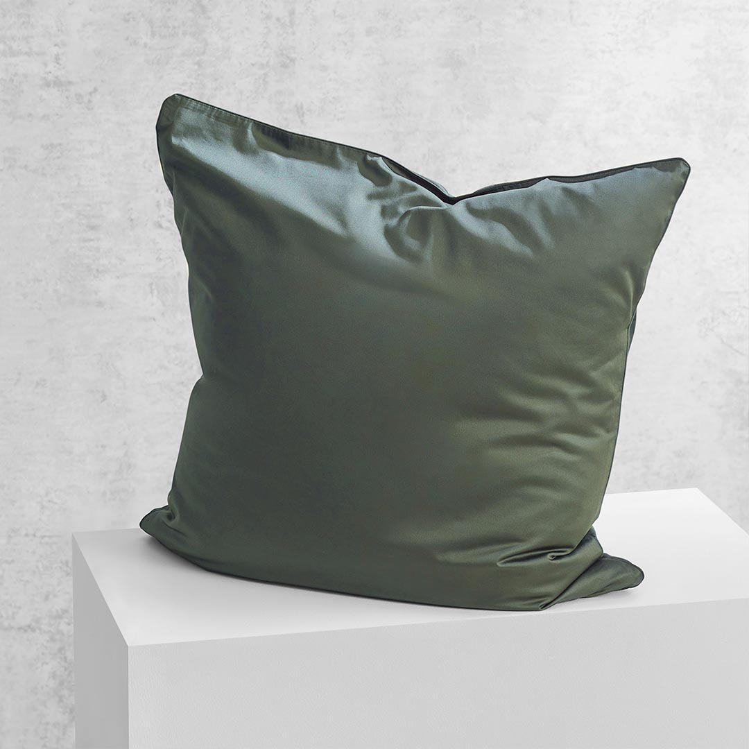 Eden European Pillowcase - Hunter Green