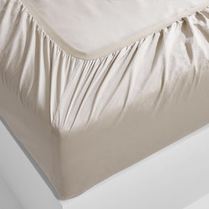 Eden Fitted Sheet - Beige