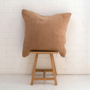 Marloe Shearling European Pillowcase - Solid Beige