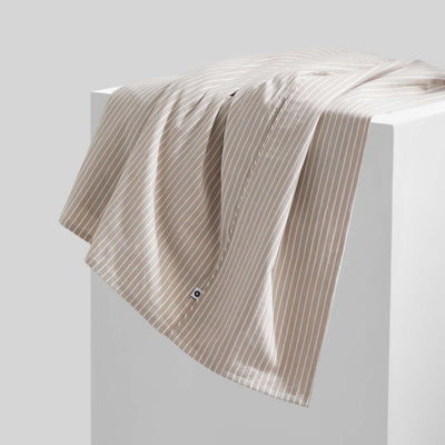 LEO Washed Cotton - Nude Stripe