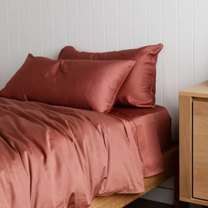 Kids Bedding - Rust
