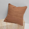 Lola Bouclé European Pillowcase - Terracotta