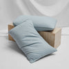 Lola Bouclé Pillowcases - Blueprint