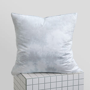 Tie-Dye European Pillowcases - Dove Grey