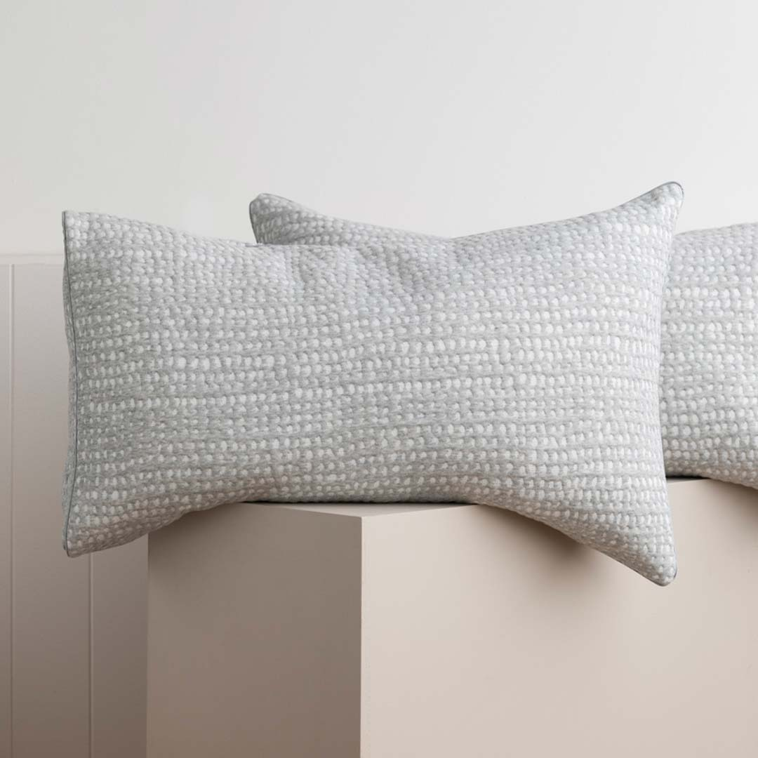 Quilted Jersey Pillowcases - Aspen