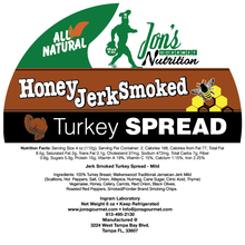 Jon's Gourmet Jerk Smoked Honey Turkey Spread