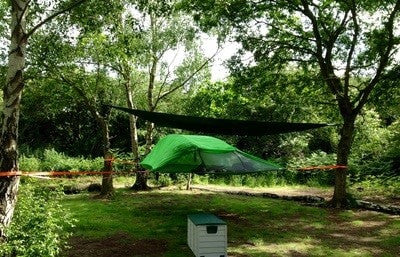 dreamy hollow hammock c&ing site & 8 Of The Best Hammock Camping Sites In The UK - WeDo Hammocks