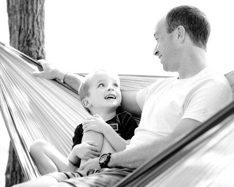 father and son - wedohammocks.co.uk - We Do Hammocks