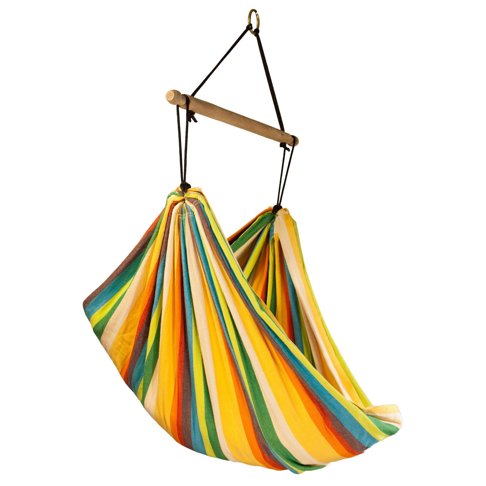 chairs hanging hangstoel color the geel newline yellow hammock chair xl in