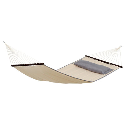 Quilted hammock with cushion