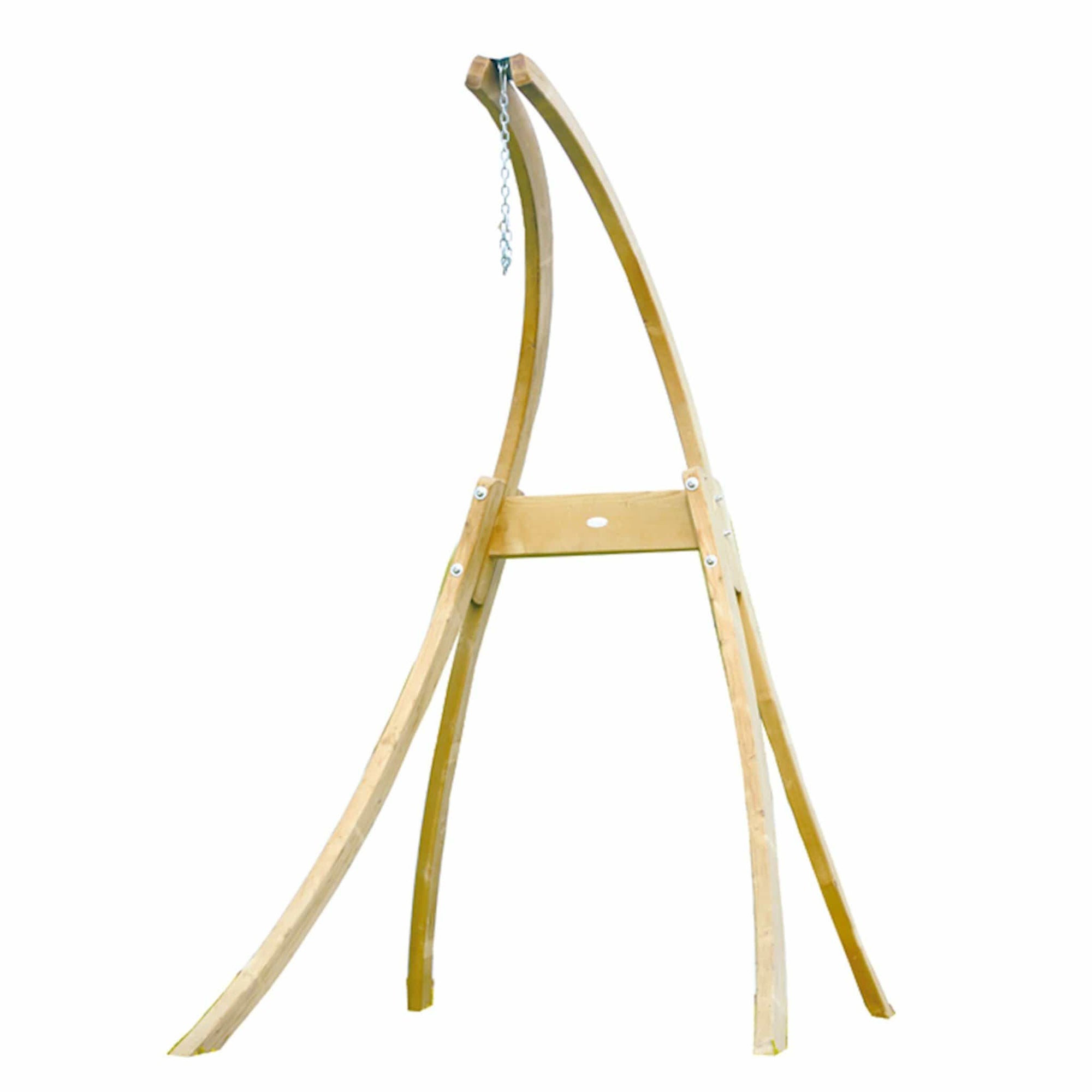 Hammock chair wooden stand