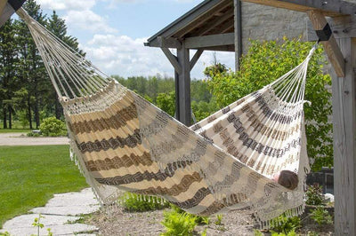 Vivere Hammock Authentic Brazilian Luxury Double Hammock