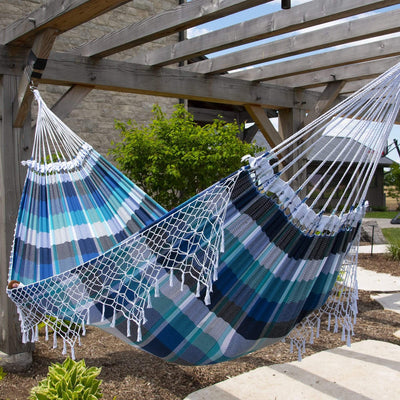 Authentic Brazilian Tropical double hammock