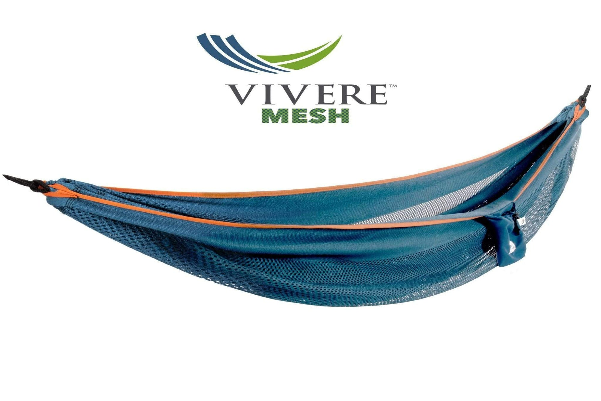 Vivere Hammock Blue/orange Mesh Hammock