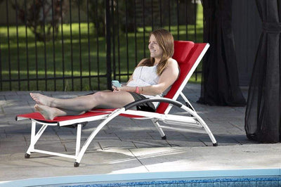 Vivere Outdoor Dockside Sun Lounger