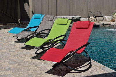 Vivere Outdoor Orbital Lounger