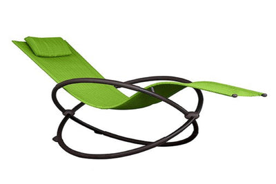 Vivere Outdoor Green Apple Orbital Lounger