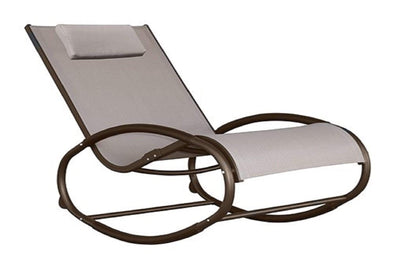 Vivere Outdoor Macchiato Wave Rocker Chair