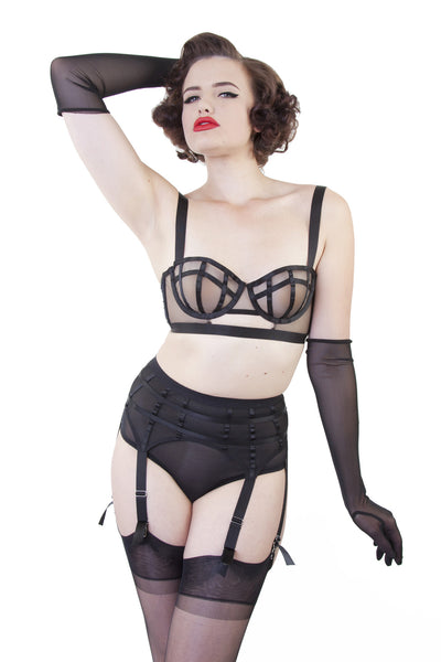 Mesh Classic Brief - Bettie Page Lingerie
