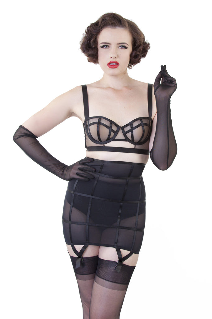 Cage Girdle - Bettie Page Lingerie