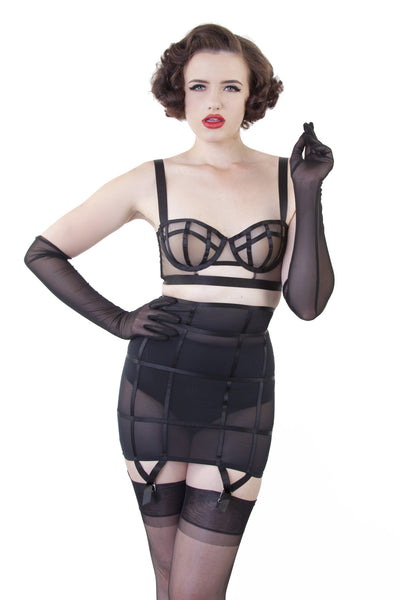 Mesh Gloves - Bettie Page Lingerie