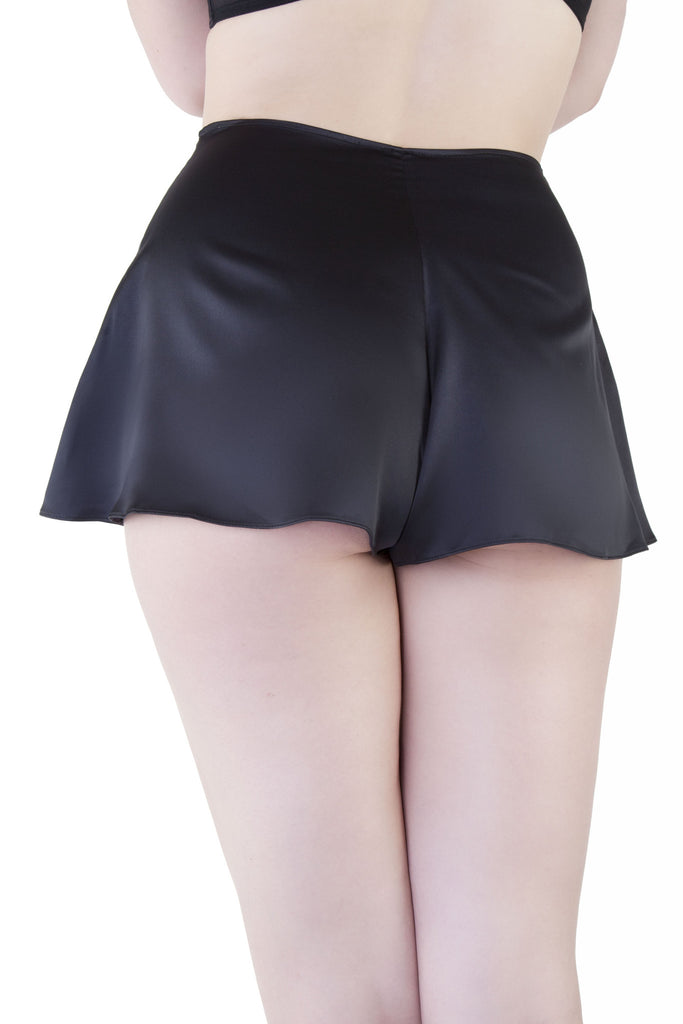 Black French Knicker - Bettie Page Lingerie