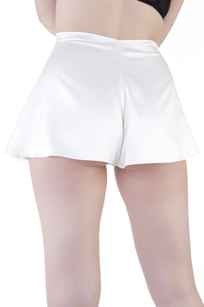 Ivory French Knicker - Bettie Page Lingerie