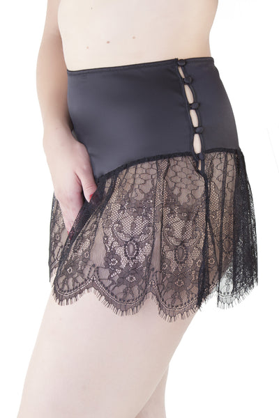 Retro Lace French Knicker
