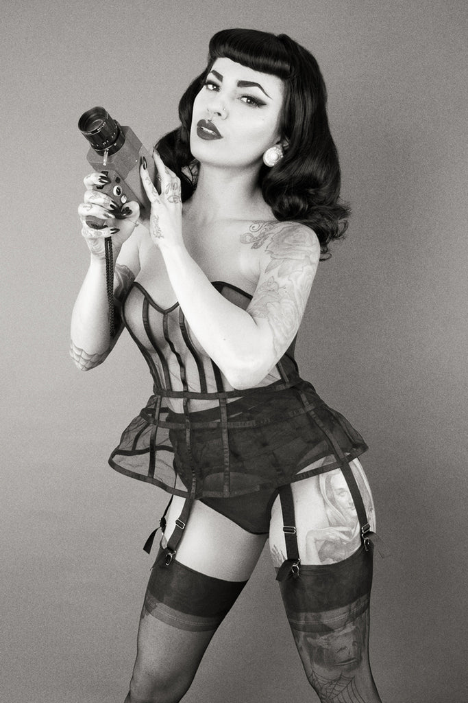 Cage Basque - Bettie Page Lingerie
