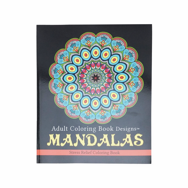BAdult Colouring Book B Mandalas