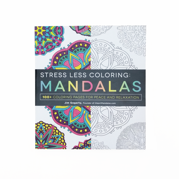 BStress Less Coloring B Mandalas
