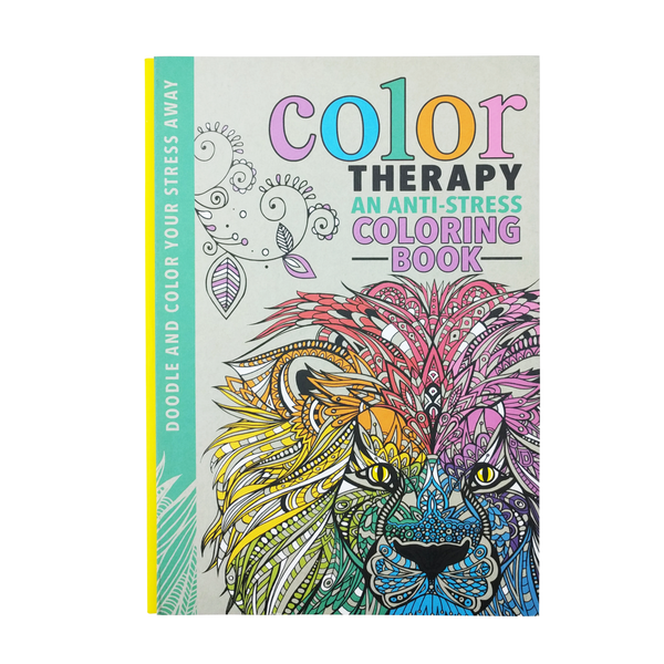 BColor Therapy B An Anti Stress Coloring Book