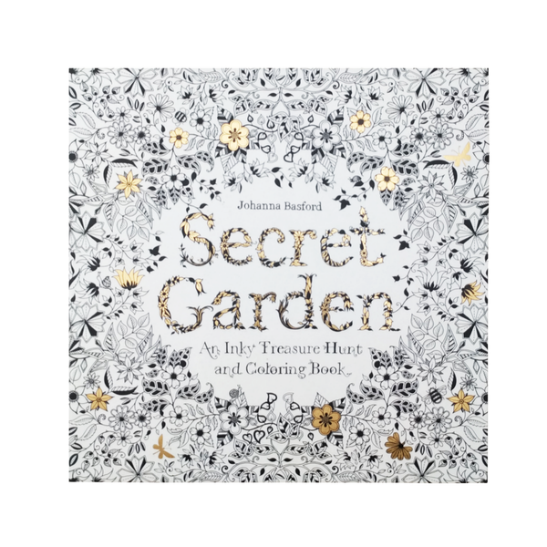 BSecret Garden B An Inky Treasure Hunt And Coloring