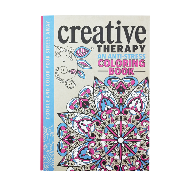BCreative Therapy B An Anti Stress Coloring Book