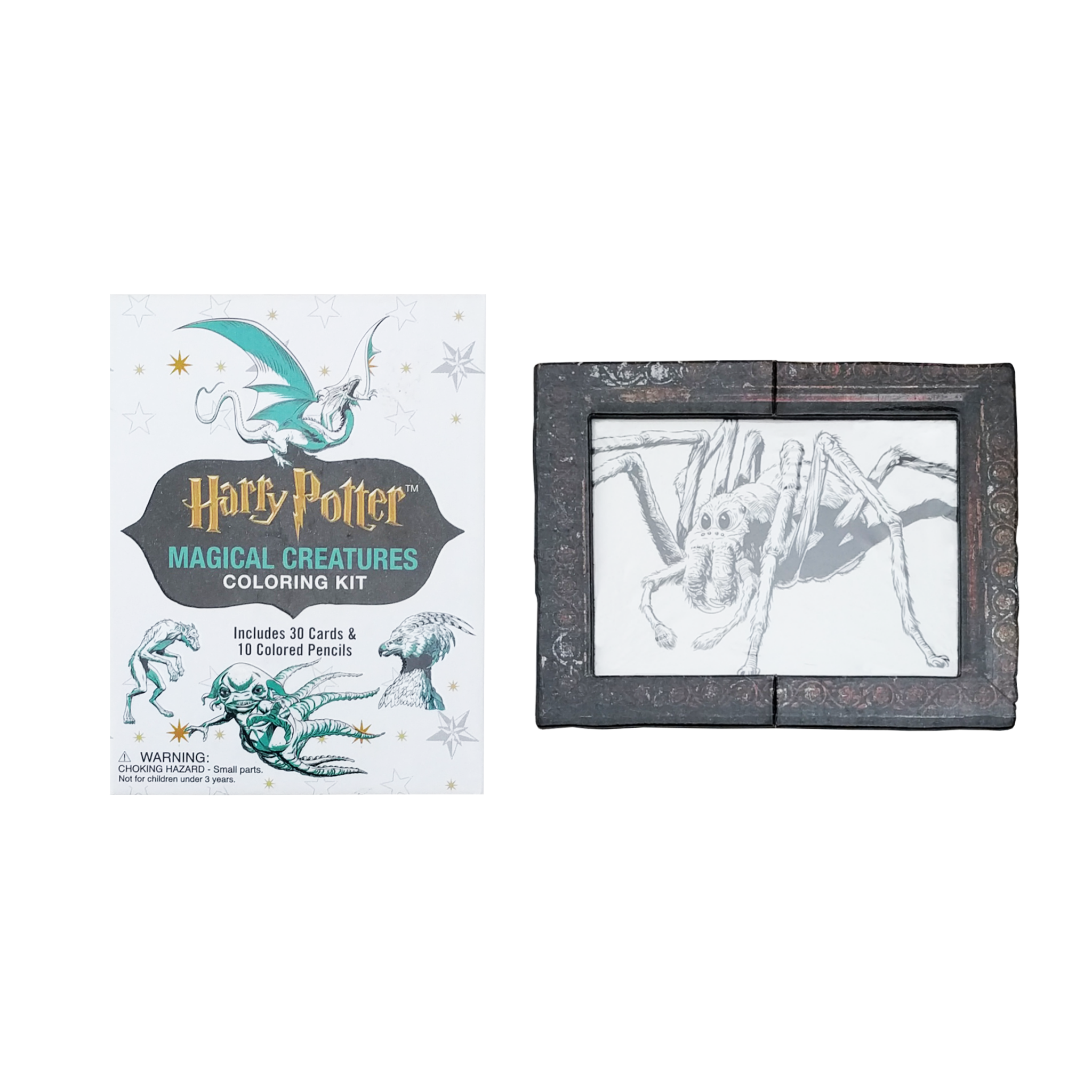 Harry Potter Magical Creatures Colouring Kit Accessory With Book