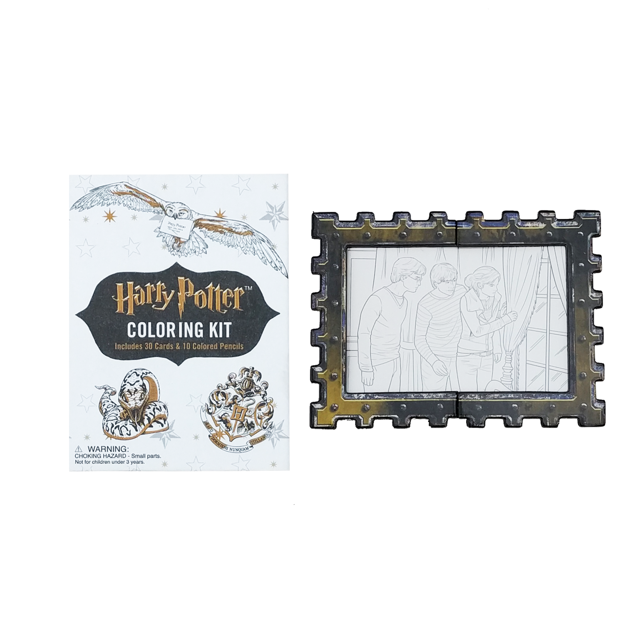 Harry Potter Colouring Kit Accessory With Book