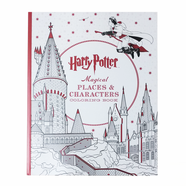 BHarry Potter B Magical Places Characters Colouring Book