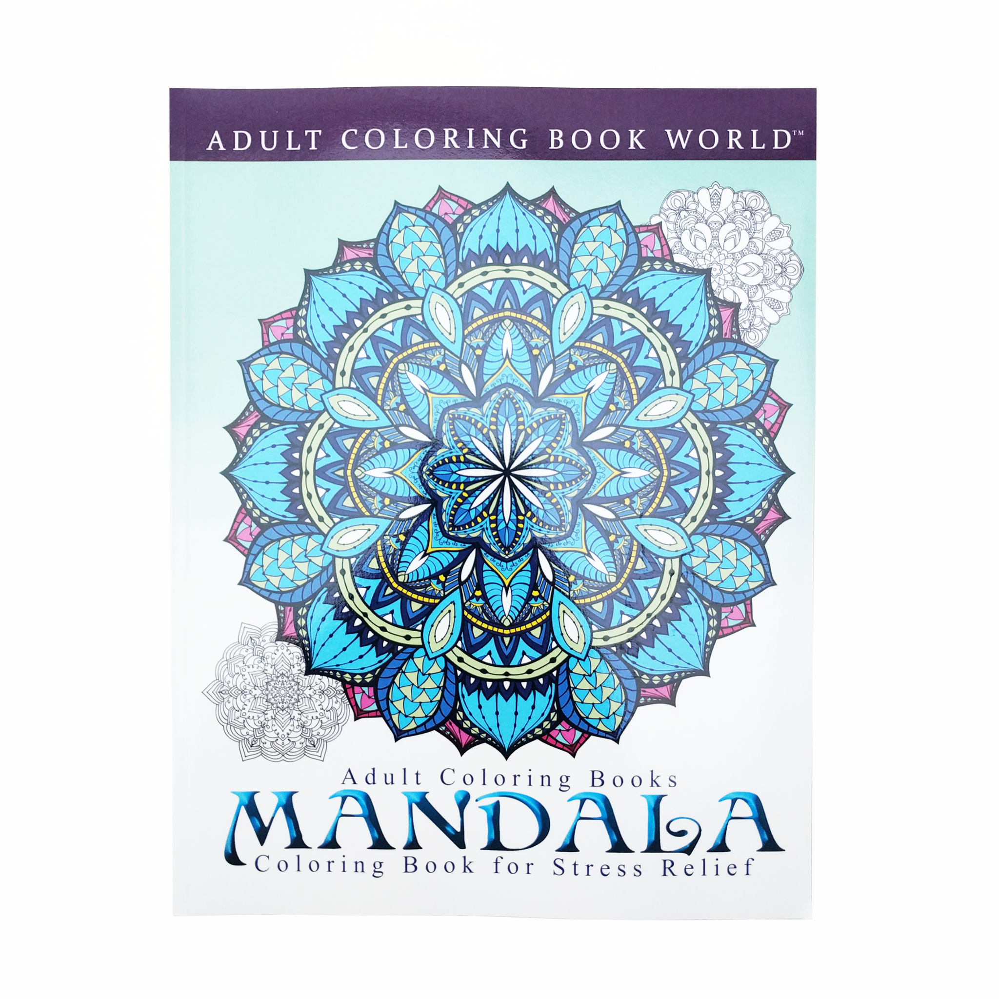 Adult Colouring Book Mandala Coloring For Stress Relief