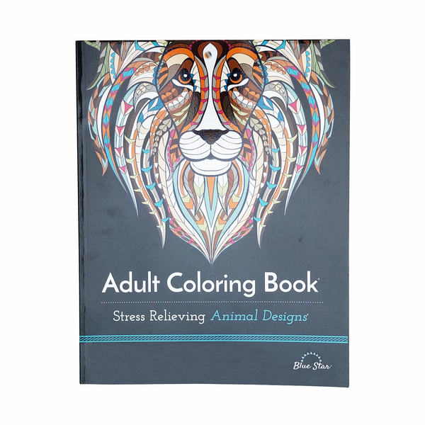 BAdult Colouring Book B Animal Designs