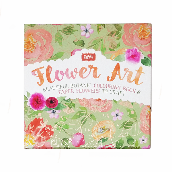 BFlower Art B Beautiful Botanic Colouring Book Paper