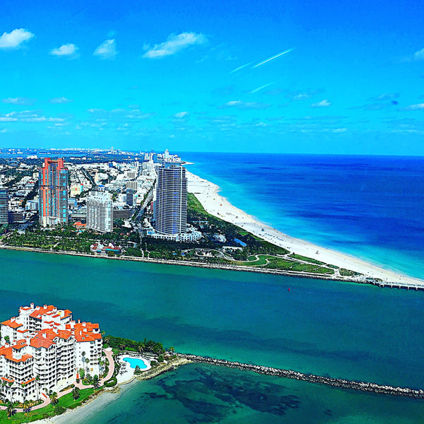 Why Not Upgrade your Miami HeliTour (6 Persons) Group to South Beach