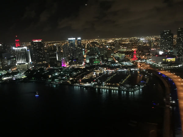 A Night Miami HeliTour for 6 Persons